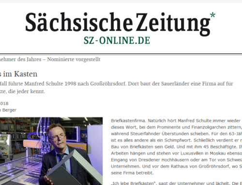 Sächsische Zeitung: Unternehmer des Jahres – Nominierte vorgestellt