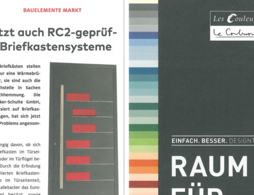 """Bauelemente Bau: """"Jetzt auch RC2-geprüfte Briefkastensysteme"""""""